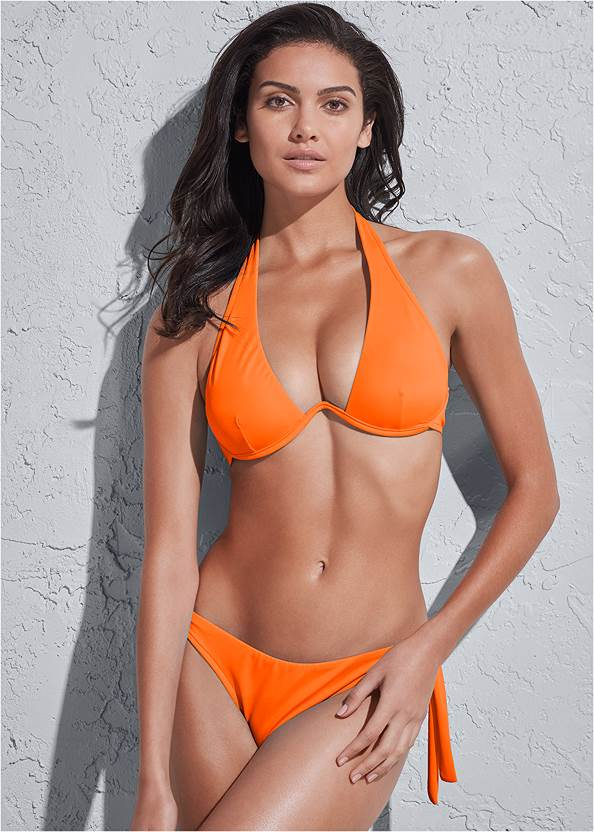 Full front view Sports Illustrated Swim™ Continuous Underwire Bra Top