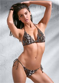 Full front view Sports Illustrated Swim™ Double Strap Triangle