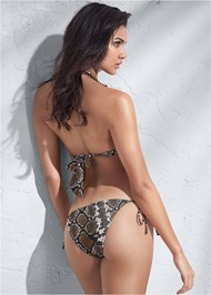 Full back view Sports Illustrated Swim™ Double Strap Triangle