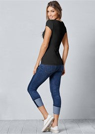 Back View Square Neck Top