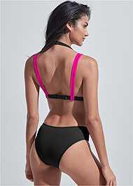 Full back view Sports Illustrated Swim™ Brazilian Crisscross Bottom