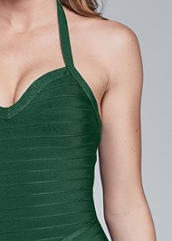 Alternate View Fringe Bandage Dress