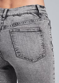 Alternate View Washed Kick Flare Jeans