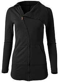 Alternate View Diagonal Zip Lounge Jacket