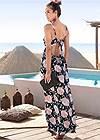 Full  view Floral Printed Maxi Dress