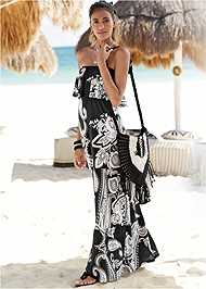Full  view Paisely Maxi Dress