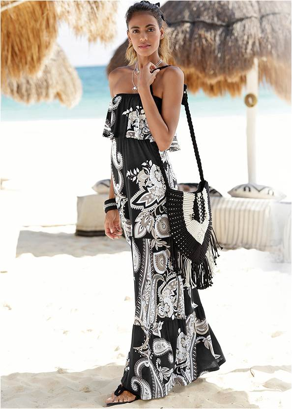 Paisely Maxi Dress