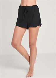 Waist down front view Sleep Shorts