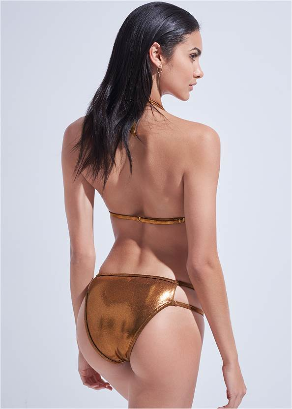 Back View Sports Illustrated Swim™ Cut Out Sides Bottom