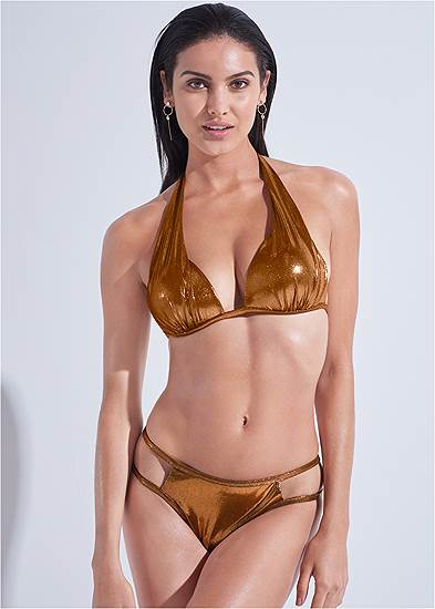 Sports Illustrated Swim™ Cut Out Sides Bottom