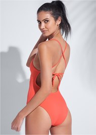 Back View Sports Illustrated Swim™ One-Piece