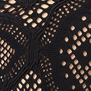 Jet Black Crochet (BQ)