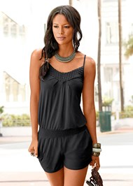 Front View Casual Romper