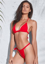 Full front view Sports Illustrated Swim™ Adjustable Coverage Bottom