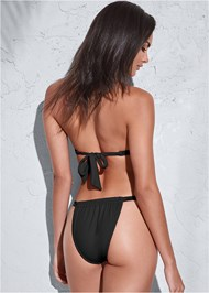 Full back view Sports Illustrated Swim™ Adjustable Coverage Bottom
