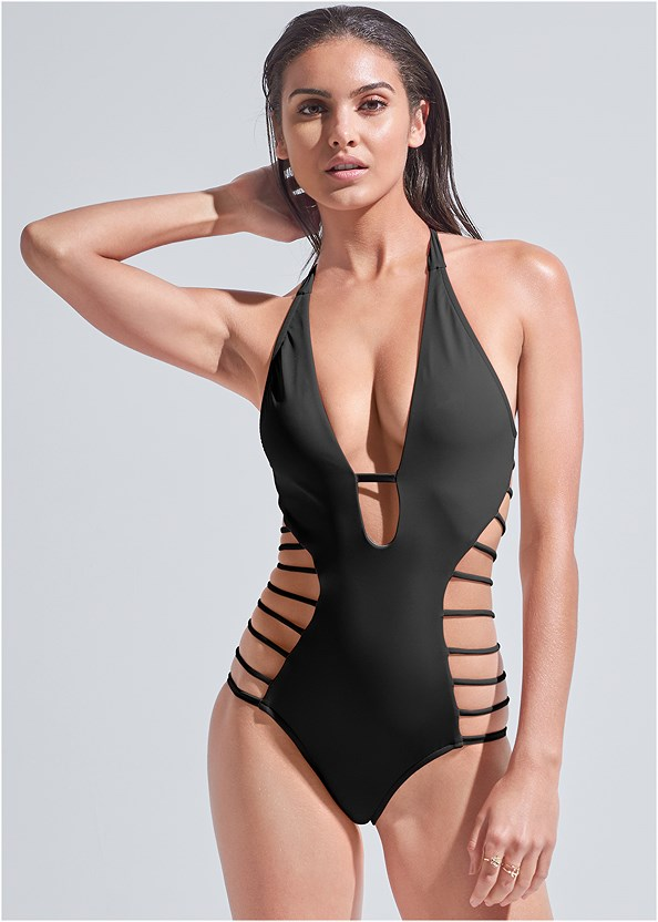 Sports Illustrated Swim™ Strappy One-Piece