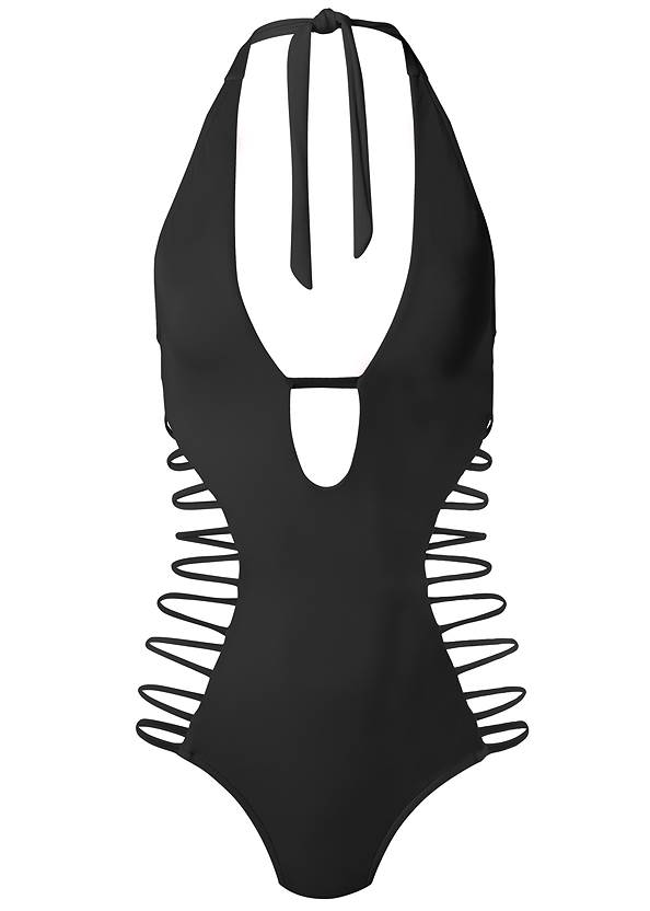 Ghost with background  view Sports Illustrated Swim™ Strappy One-Piece