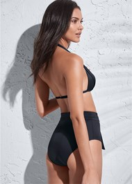 Back View Sports Illustrated Swim™ High Waist Bottom