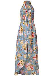 Ghost with background  view Smocked Floral Maxi Top