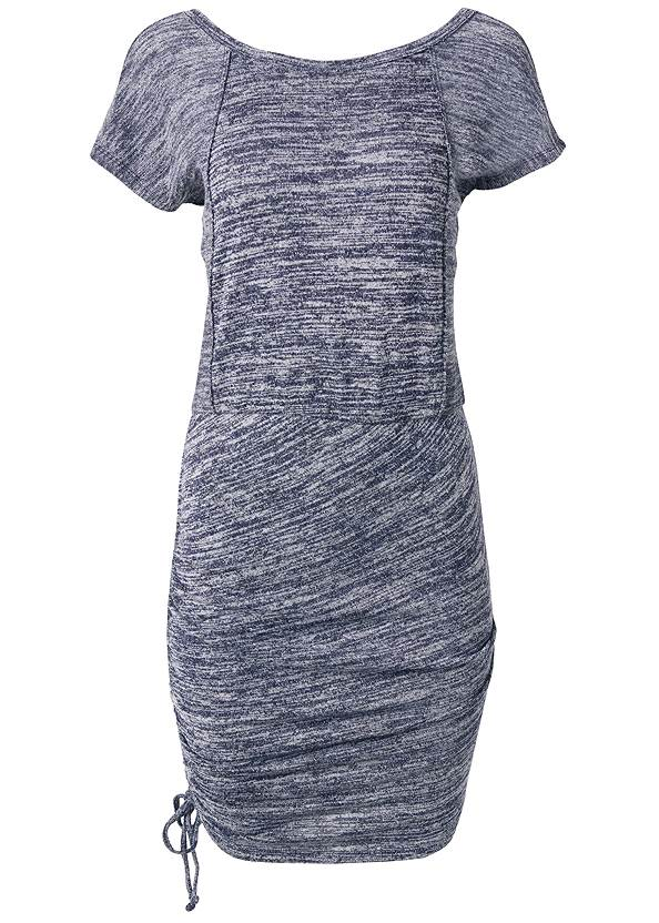 Alternate View Cozy Drawstring Tie Lounge Dress