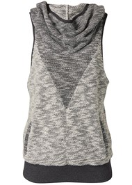 Ghost with background  view Sleeveless Cowl Neck Lounge Pullover Top