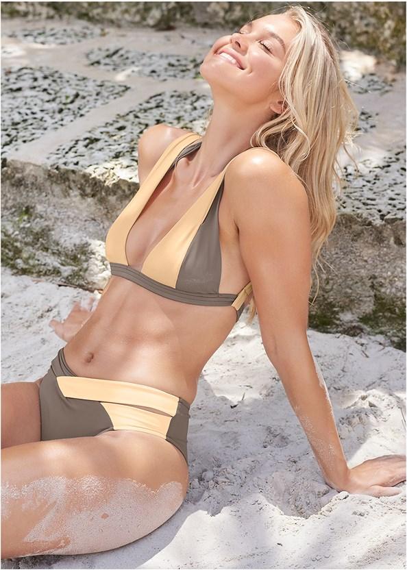 Sports Illustrated Swim™ Brazilian Crisscross Bottom,Sports Illustrated Swim™ Brazilian Bralette