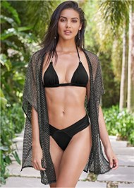 Full front view Sports Illustrated Swim™ Beach Kimono