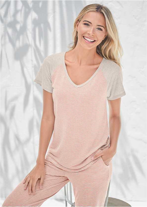 Stripe Sleep Shirt