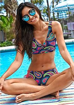lovely lift wrap bikini top