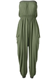 Alternate View Strapless Utility Jumpsuit