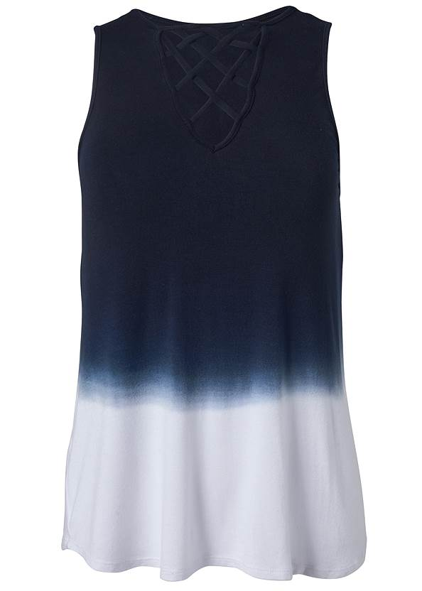 Ghost with background  view Ombre Strappy Top