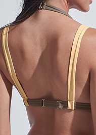 Detail back view Sports Illustrated Swim™ Brazilian Bralette Top