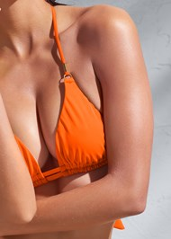 Detail front view Sports Illustrated Swim™ Double Strap Triangle