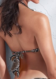 Detail back view Sports Illustrated Swim™ Double Strap Triangle