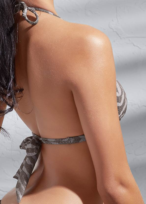 Detail back view Sports Illustrated Swim™ Double Strap Triangle Top