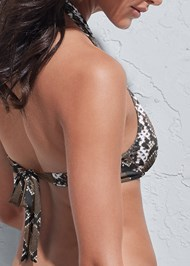 Detail back view Sports Illustrated Swim™ Continuous Underwire Bra Top