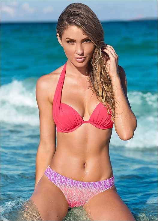 LOW RISE BIKINI BOTTOM,MARILYN PUSH UP BRA TOP,GODDESS ENHANCER PUSH UP,UNDERWIRE HALTER BIKINI TOP,ENHANCER PUSH UP TRIANGLE