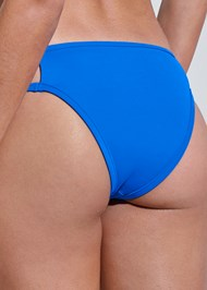 Detail back view Sports Illustrated Swim™ Cut Out Sides Bottom