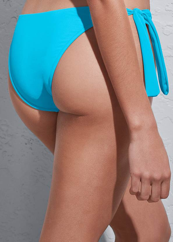 Detail back view Sports Illustrated Swim™ Sash Tie Side Bottom