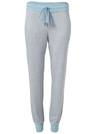 Ghost with background  view Striped Sleep Jogger