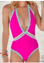 Detail front view Sao Paulo V-Neck One-Piece