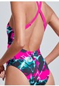 Detail back view Sports Illustrated Swim™ High Neck Sport One-Piece