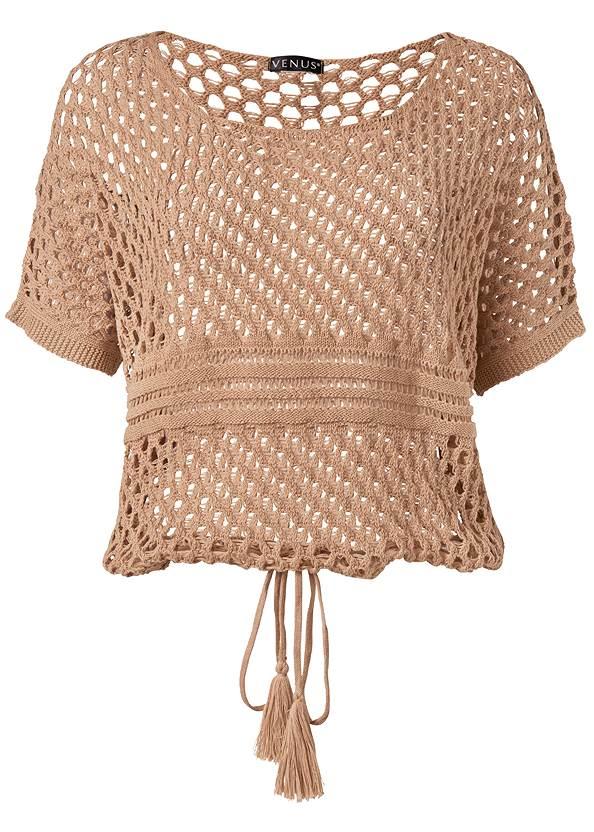 Alternate View Open Knit Sweater