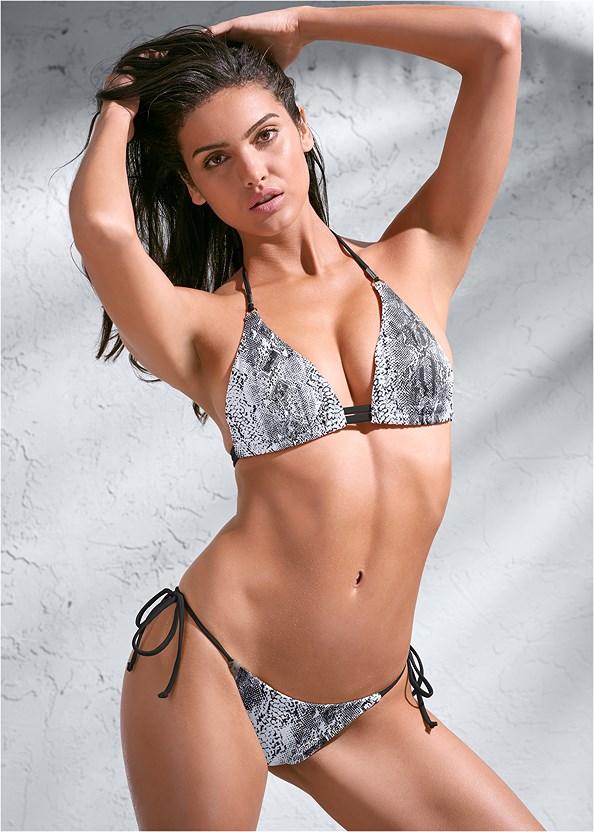 Sports Illustrated Swim™ Tie Side String Bottom,Sports Illustrated Swim™ Double Strap Triangle