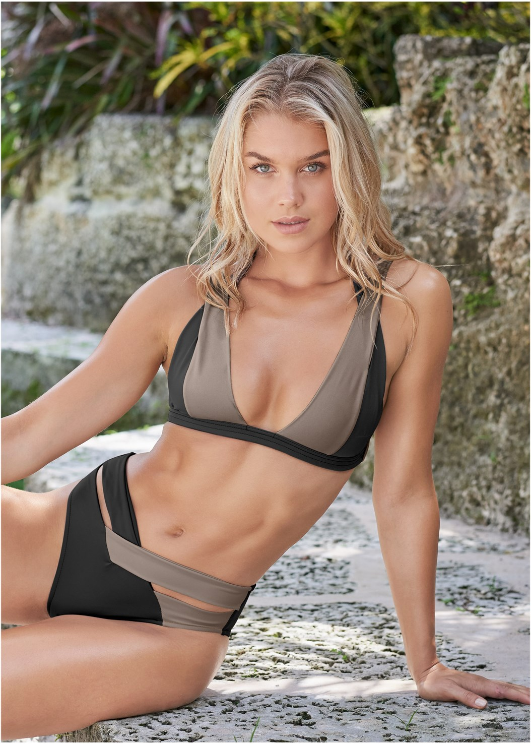 Sports Illustrated Swim™ Brazilian Bralette,Sports Illustrated Swim™ Brazilian Crisscross Bottom,Sports Illustrated Swim™ Strappy Banded Bottom,Sports Illustrated Swim™ Low Rise Brief,Sports Illustrated Swim™ Cheeky Short