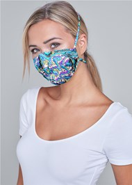 Cropped front view Print Mask