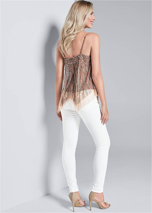 Back View Sequin Top
