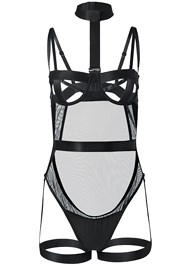 Ghost with background  view Unlined Strappy Bodysuit