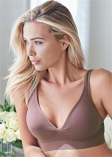 Seamless Lace Comfort Bra