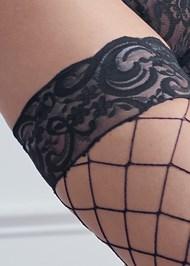 Alternate View Fishnet Thigh Highs